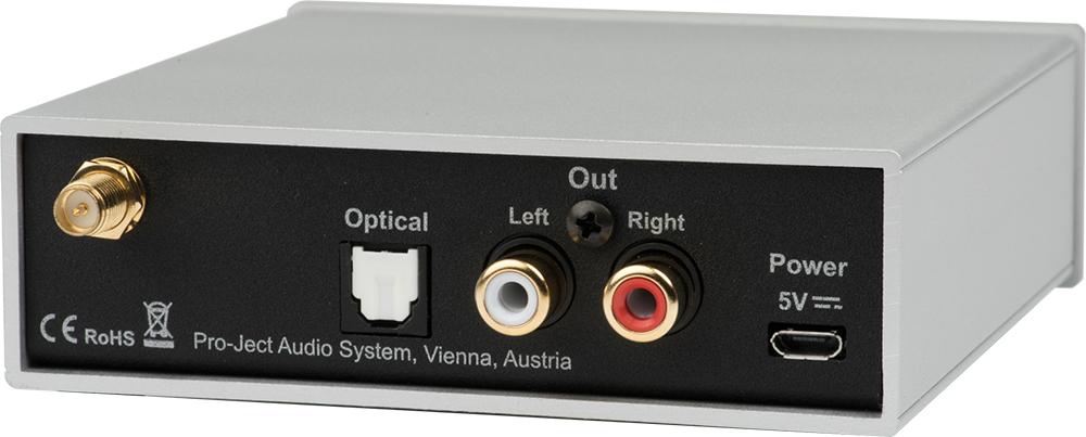 Home Audio Components Pro-ject Bluetooth Box E Hifi Bluetooth Audioempfänger Receiver Aptx Weiß White Home Audio
