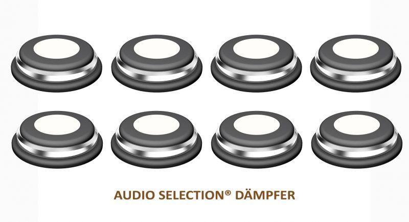Goldkabel Audio Selection Dämpfer mittel ( 8er Set )
