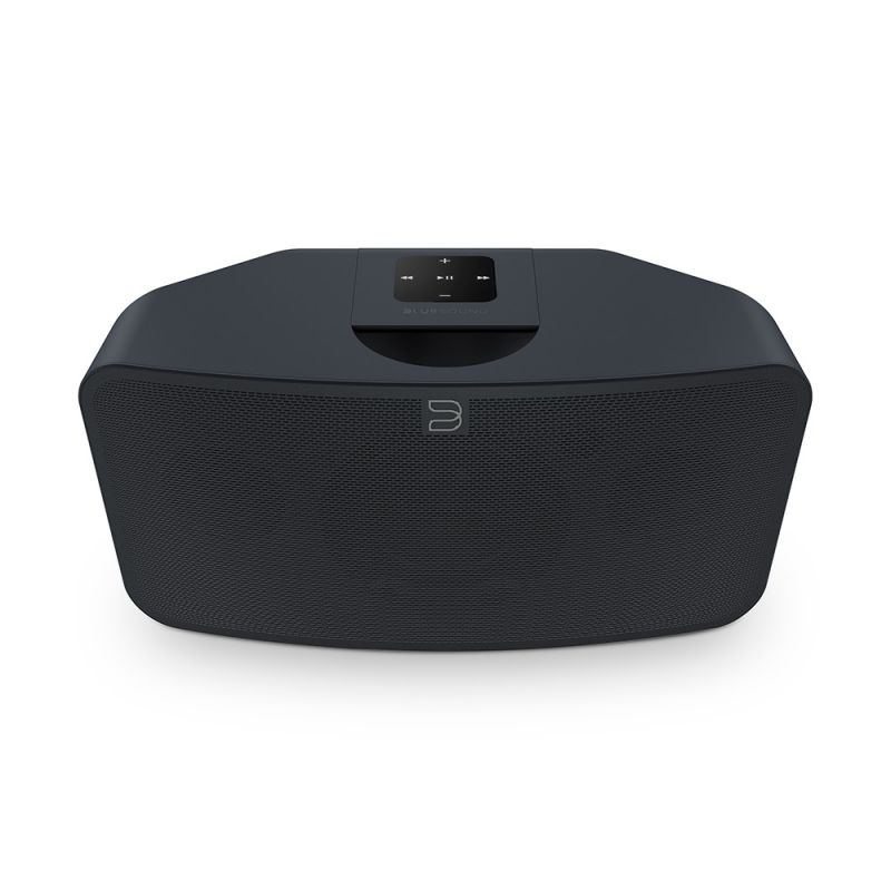 Bluesound PULSE MINI 2i Kompakter kabelloser Multi Raum Musik Streaming Lautsprecher