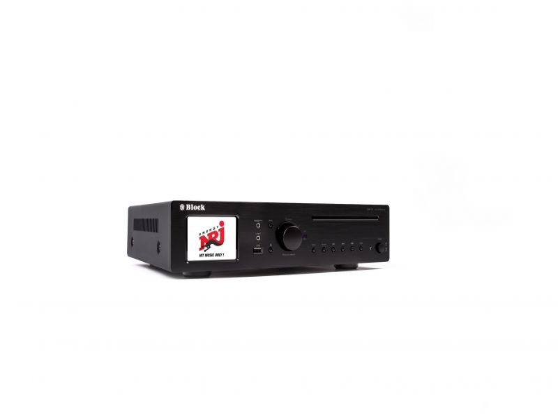 Block CVR-10 CD-Internet-Receiver