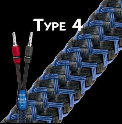 Audioquest Type 4 Single Wire incl. Bananas (versch. Längen)