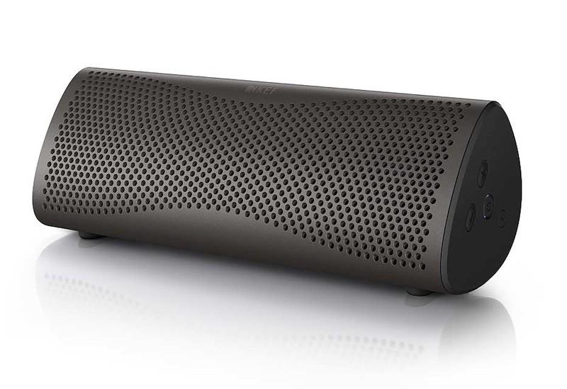 KEF MUO mobiler Bluetooth-Lautsprecher mit aptX