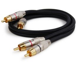 HC Audio Stereo Audiokabel 0,5 Meter