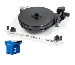 Project 6PerspeX Acryl  incl. Ortofon MC Quintet Blue