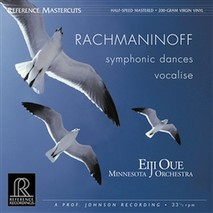 Rachmaninoff - Symphonic Dances/Vocalise 200 gramm Vinyl-LP