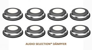 Goldkabel Audio Selection Dämpfer mittel ( 8er Set )