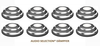 Goldkabel Audio Selection Dämpfer groß ( 8er Set )