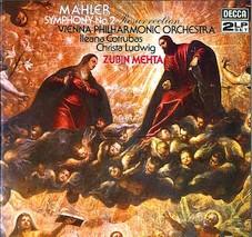 Gustav Mahler Symphonie N2 180 gramm Vinyl-LP