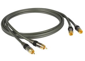 Goldkabel Profi Series Cinch Stereo 0,5 meter