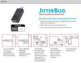 Audioquest JitterBug USB-Störungsfilter für Daten und Strom