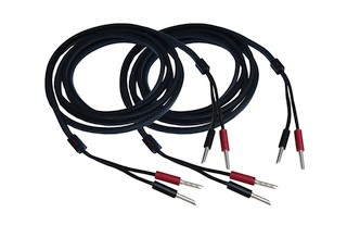 Audioquest Q2 Single Wire incl. Bananas (Paarpreis)