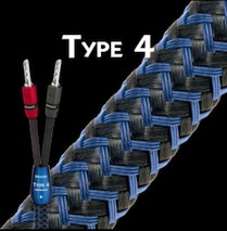 Audioquest Type 4 Bi-Wire incl. Bananas (Paarpreis)