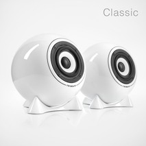 mo°sound Classic Kugellautsprecher aus Porzellan (Paarpreis)