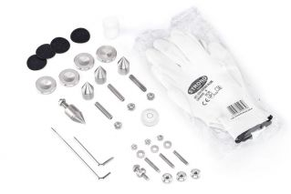 STOIC Absorber Bases / pulverbeschichteter Stahl-Rahmen Weiss