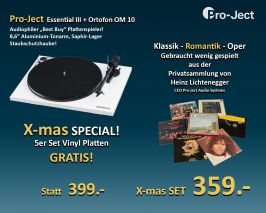 Project Essential III incl. Ortofon OM 10