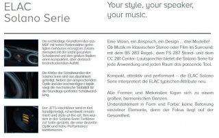 ELAC Solano BS283 Regallautsprecher (Paarpreis)