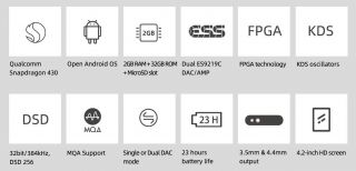 Shanling M3X Hi-Res Portable Music Player