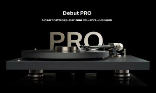Project Debut PRO inkl. Pick it PRO MM Tonabnehmer