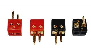 HC Audio Lautsprecherstecker (4er Set)