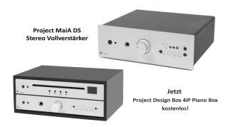 Project MaiA DS Silber Stereo Vollverstärker