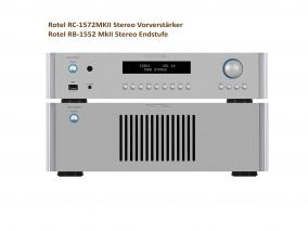 Rotel RC-1572MKII und Rotel RB-1552 MkII